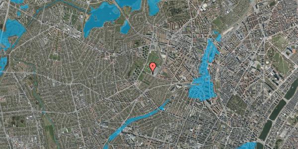 Oversvømmelsesrisiko fra vandløb på Bakkevej 51, 2400 København NV