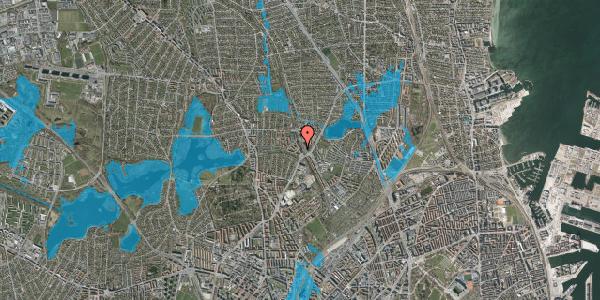 Oversvømmelsesrisiko fra vandløb på Banebrinken 77, 1. th, 2400 København NV