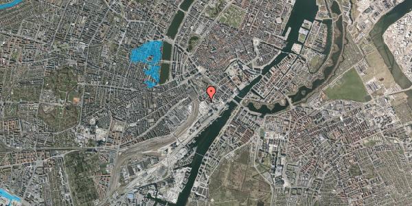 Oversvømmelsesrisiko fra vandløb på Bernstorffsgade 23, 3. , 1577 København V