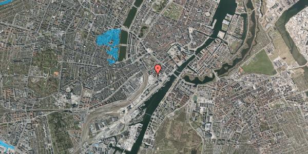 Oversvømmelsesrisiko fra vandløb på Bernstorffsgade 25, 4. tv, 1577 København V