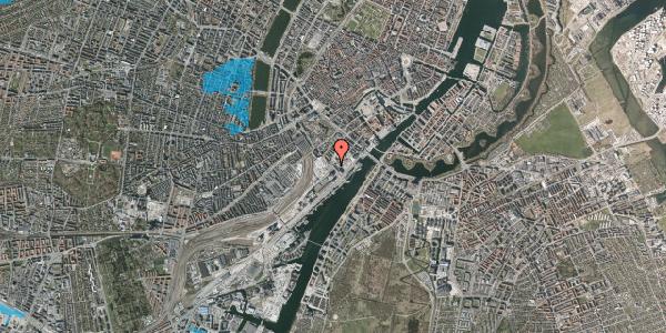 Oversvømmelsesrisiko fra vandløb på Bernstorffsgade 27, 1. th, 1577 København V