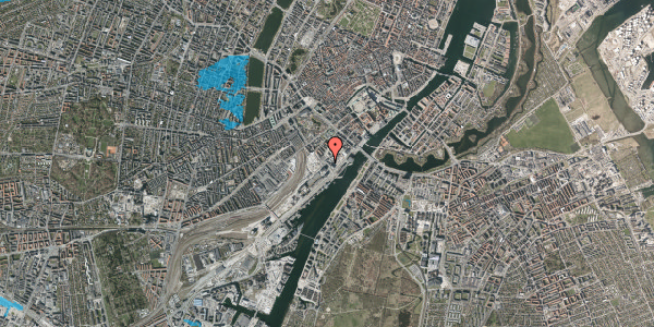 Oversvømmelsesrisiko fra vandløb på Bernstorffsgade 29, 2. tv, 1577 København V