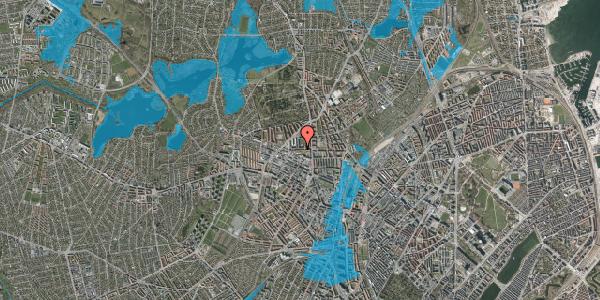 Oversvømmelsesrisiko fra vandløb på Birkedommervej 15, 2. th, 2400 København NV