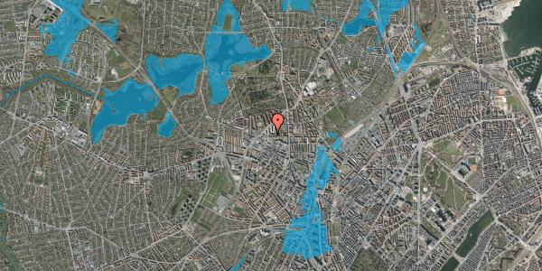 Oversvømmelsesrisiko fra vandløb på Birkedommervej 30, 3. th, 2400 København NV
