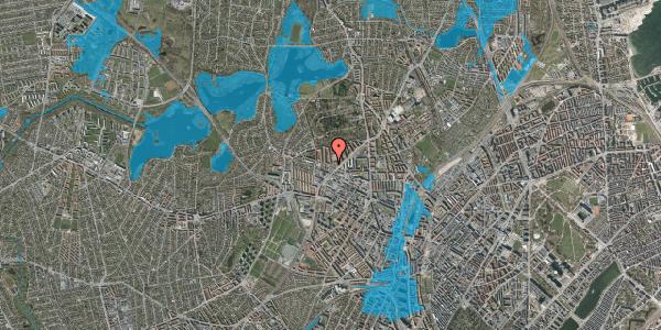 Oversvømmelsesrisiko fra vandløb på Birkedommervej 56, 2. th, 2400 København NV