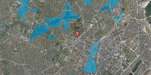 Oversvømmelsesrisiko fra vandløb på Birkedommervej 60, st. th, 2400 København NV