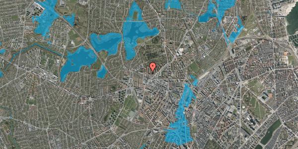 Oversvømmelsesrisiko fra vandløb på Birkedommervej 62, 2. tv, 2400 København NV