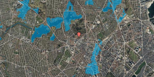 Oversvømmelsesrisiko fra vandløb på Birkedommervej 64, 3. tv, 2400 København NV