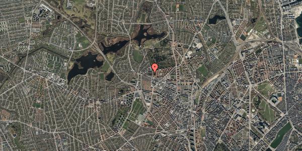 Oversvømmelsesrisiko fra vandløb på Birkedommervej 72, 2. th, 2400 København NV