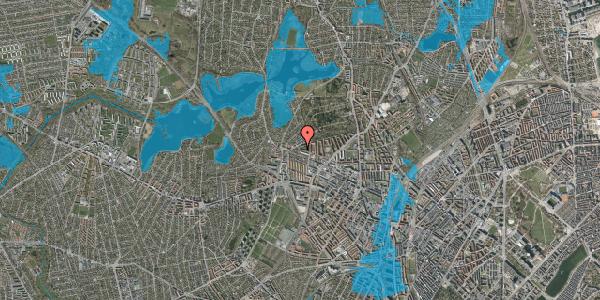Oversvømmelsesrisiko fra vandløb på Birkedommervej 90, st. tv, 2400 København NV