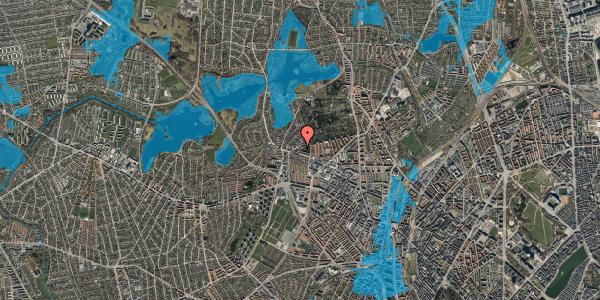 Oversvømmelsesrisiko fra vandløb på Birkedommervej 92, 1. tv, 2400 København NV