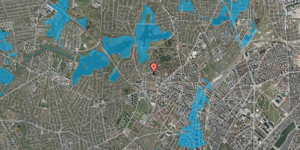 Oversvømmelsesrisiko fra vandløb på Birkedommervej 93, 1. th, 2400 København NV