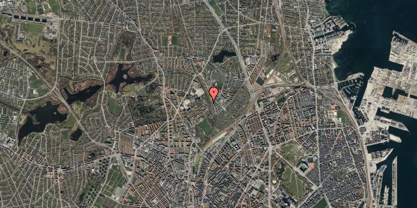 Oversvømmelsesrisiko fra vandløb på Bispebjerg Bakke 22F, 1. th, 2400 København NV