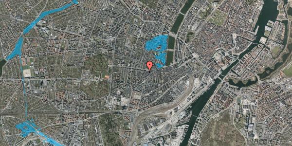 Oversvømmelsesrisiko fra vandløb på Boyesgade 3, 1. th, 1622 København V
