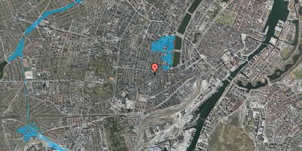 Oversvømmelsesrisiko fra vandløb på Boyesgade 11, 1. tv, 1622 København V