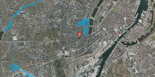 Oversvømmelsesrisiko fra vandløb på Boyesgade 11, 5. tv, 1622 København V