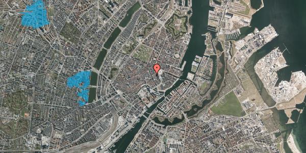 Oversvømmelsesrisiko fra vandløb på Bremerholm 1, 1. , 1069 København K
