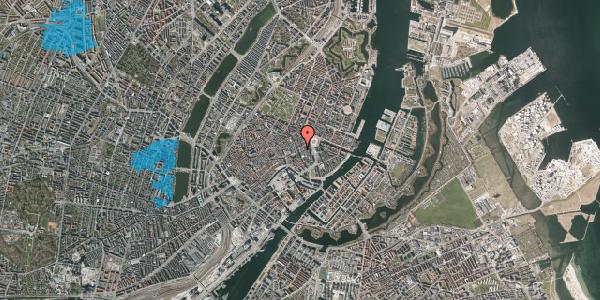 Oversvømmelsesrisiko fra vandløb på Bremerholm 1, 4. , 1069 København K