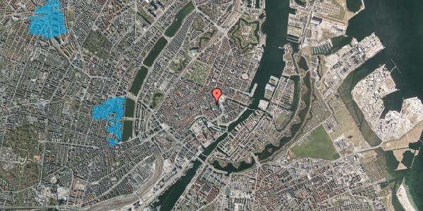 Oversvømmelsesrisiko fra vandløb på Bremerholm 3, 3. , 1069 København K