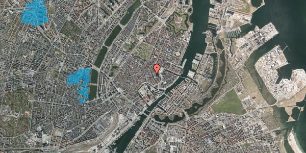Oversvømmelsesrisiko fra vandløb på Bremerholm 4, st. , 1069 København K