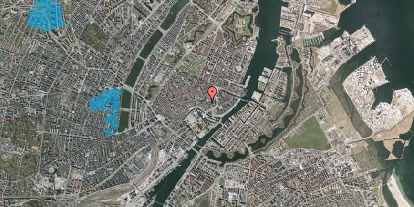 Oversvømmelsesrisiko fra vandløb på Bremerholm 26, st. tv, 1069 København K