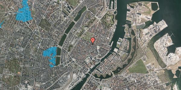 Oversvømmelsesrisiko fra vandløb på Christian IX's Gade 1, 3. th, 1111 København K