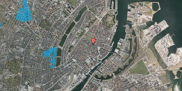 Oversvømmelsesrisiko fra vandløb på Christian IX's Gade 1, 4. th, 1111 København K