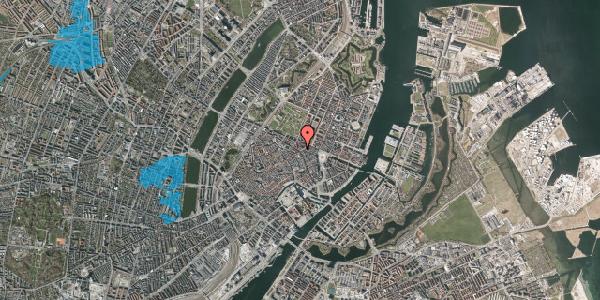 Oversvømmelsesrisiko fra vandløb på Christian IX's Gade 2, 3. th, 1111 København K
