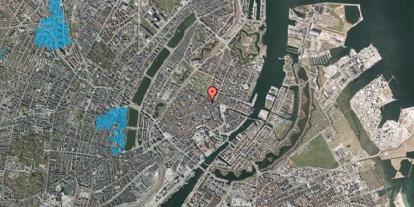 Oversvømmelsesrisiko fra vandløb på Christian IX's Gade 2, 5. th, 1111 København K