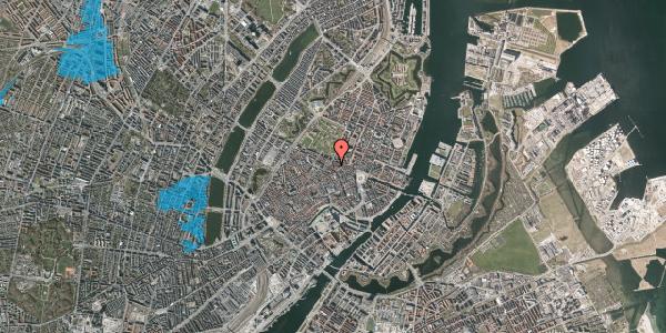 Oversvømmelsesrisiko fra vandløb på Christian IX's Gade 3, 3. th, 1111 København K