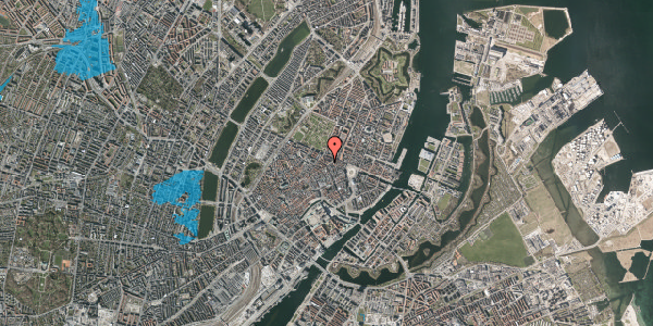 Oversvømmelsesrisiko fra vandløb på Christian IX's Gade 4, st. , 1111 København K