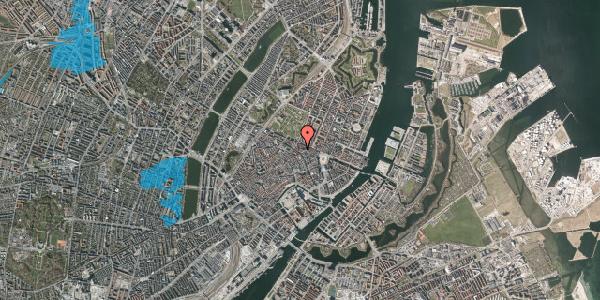 Oversvømmelsesrisiko fra vandløb på Christian IX's Gade 6, 1. th, 1111 København K