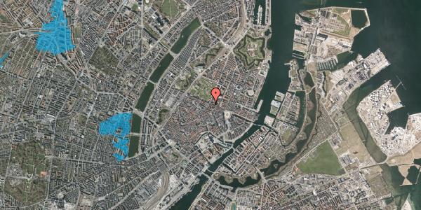 Oversvømmelsesrisiko fra vandløb på Christian IX's Gade 10, st. 1, 1111 København K