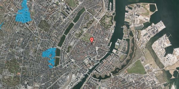 Oversvømmelsesrisiko fra vandløb på Christian IX's Gade 10, 1. , 1111 København K