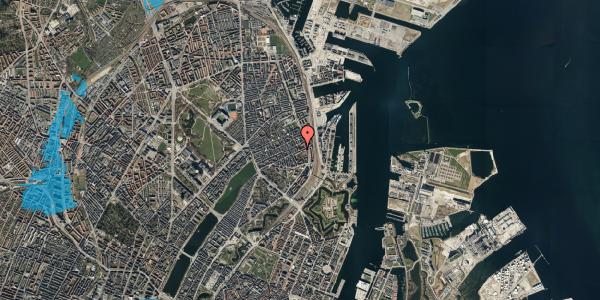 Oversvømmelsesrisiko fra vandløb på Classensgade 59, st. tv, 2100 København Ø