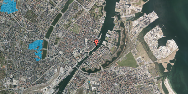 Oversvømmelsesrisiko fra vandløb på Cort Adelers Gade 9, 4. th, 1053 København K