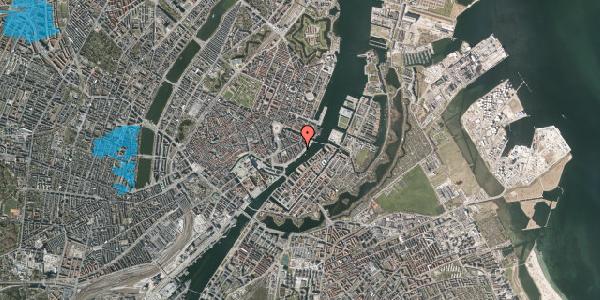Oversvømmelsesrisiko fra vandløb på Cort Adelers Gade 10, 2. 206a, 1053 København K