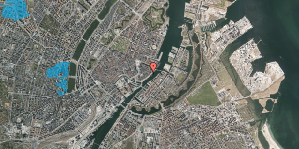 Oversvømmelsesrisiko fra vandløb på Cort Adelers Gade 12, 4. th, 1053 København K