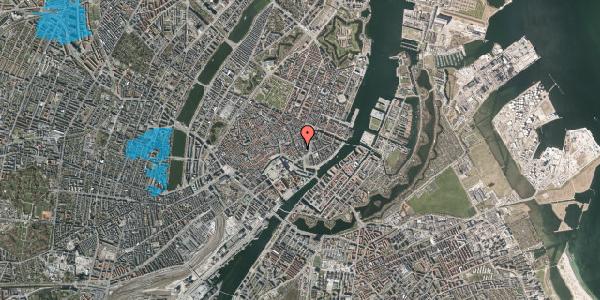 Oversvømmelsesrisiko fra vandløb på Dybensgade 3, 1. , 1071 København K
