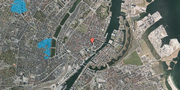 Oversvømmelsesrisiko fra vandløb på Dybensgade 4, 2. th, 1071 København K