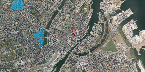 Oversvømmelsesrisiko fra vandløb på Fortunstræde 1, st. th, 1065 København K