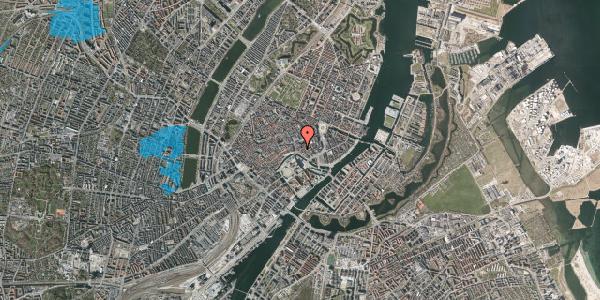 Oversvømmelsesrisiko fra vandløb på Fortunstræde 4, kl. , 1065 København K