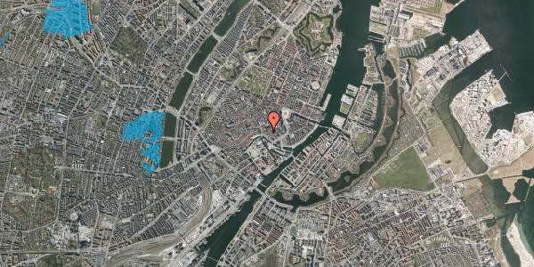 Oversvømmelsesrisiko fra vandløb på Fortunstræde 5, 1. , 1065 København K