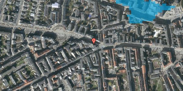 Oversvømmelsesrisiko fra vandløb på Frederiksberg Allé 3, 1. 5, 1621 København V