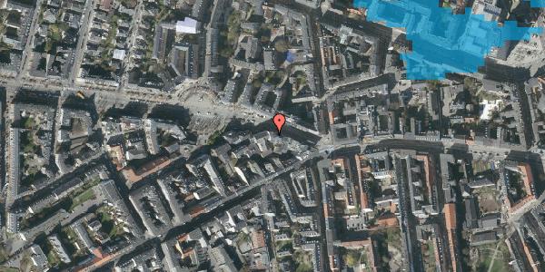 Oversvømmelsesrisiko fra vandløb på Frederiksberg Allé 5, 3. tv, 1621 København V