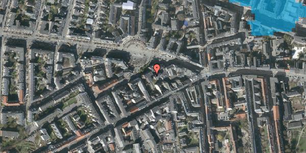 Oversvømmelsesrisiko fra vandløb på Frederiksberg Allé 11A, 4. tv, 1621 København V