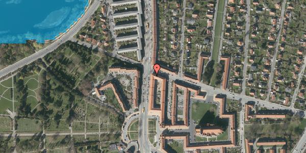 Oversvømmelsesrisiko fra vandløb på Frederiksborgvej 158, 1. tv, 2400 København NV