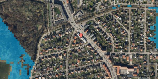 Oversvømmelsesrisiko fra vandløb på Frederiksborgvej 209, st. 1, 2400 København NV
