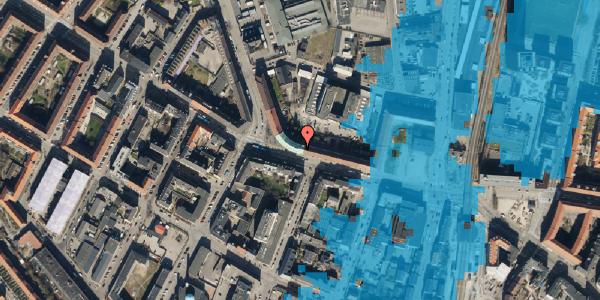 Oversvømmelsesrisiko fra vandløb på Frederikssundsvej 26A, st. , 2400 København NV