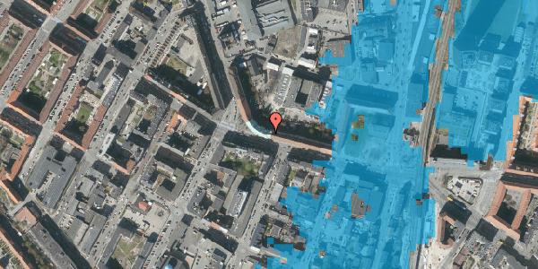 Oversvømmelsesrisiko fra vandløb på Frederikssundsvej 26A, 3. , 2400 København NV